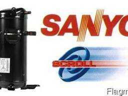 Компрессоры спирального типа Panasonic, Sanyo