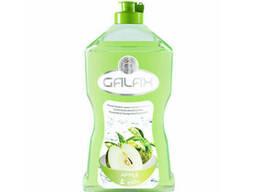 Концентрированная жидкость для мытья посуды 1 л Яблоко Galax 724304