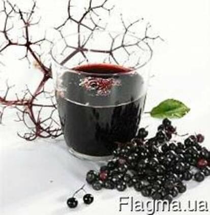 Концентрированный сок бузины