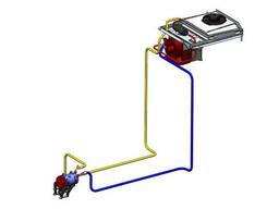 Кондиціонер трактора мтз (З наддаховим конденсатором)