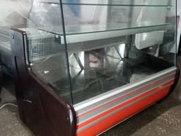 Кондитерская холодильная витрина COLD С-14G б/у, витрина кон