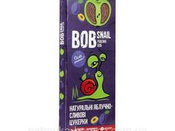 Конфеты Bob Snail Яблоко-слива 30гр