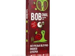 Конфеты Bob Snail Яблоко-вишня 30гр