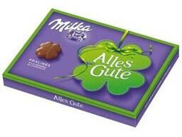 Конфеты Milka Pralines Au chocolat шоколад 110г