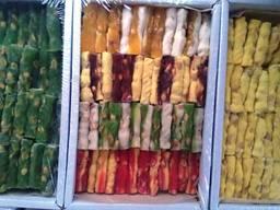 Рахат-лукум палочки ореховые 1 кг. - 65 гр. в ассортименте
