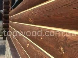 Отделка деревянного дома из сруба и бруса