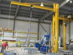 Консольно-поворотные краны - изготовление, ремонт, монтаж