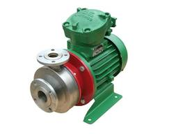 Насосний агрегат подача 50 м3/год тиск 50м з електродвигуном 15 кВт