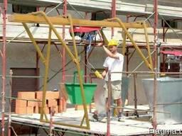 Консольный подъёмник грузовой ПГС-1,0 (кран-балка в окно)!