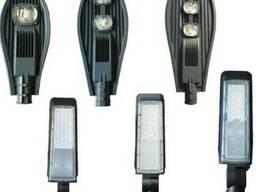 Консольные светильники с регулировкой угла наклона.