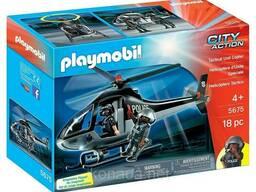 Конструктор ПлейМобил Полицейский Вертолет Playmobil Tactical Unit Copter
