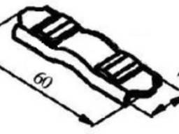 Контакт пускателя ПАЕ-500 с. подвижный
