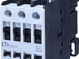 Контактор CEM 25.10 48V AC (25A; 11kW; AC3)