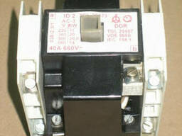 Контактор ID-2, AC-3, 40A, 660V DDR к кранам РДК, Takraf