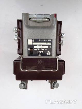 Контактор типу V33D 100 А 500 В. Катушка 220 В.