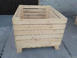 Дерев'яний ящик, дерев'яний контейнер, wooden container