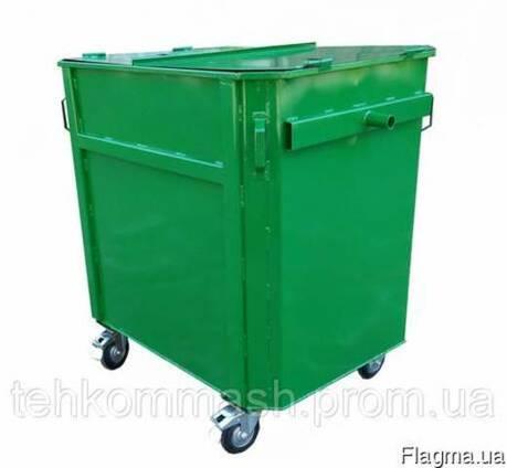 Контейнер для мусора под евромусовровоз