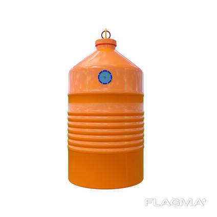 Контейнер для пластика (Вивантаження кран-маніпулятор)