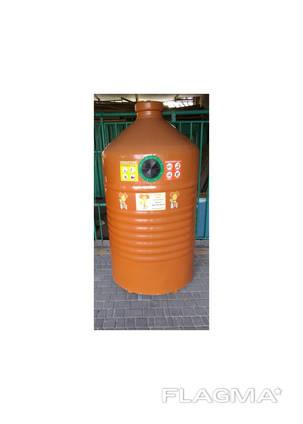 Контейнер для сбора пластика (Выгрузка - мусоровоз)