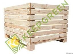 Контейнер під яблуко дерев'яний, якісний та надійний