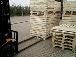 Контейнер/ящик для зберігання яблук, овочів. дерев'яний.