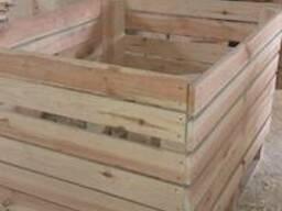 ЕвроКонтейнеры деревянные для хранения яблок