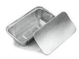 Контейнеры из алюминиевой фольги SP64L с алюминиево-картонной крышкой