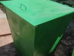 Контейнеры металлические для ТБО S=1,5мм