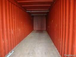 Контейнеры морские для негабаритных грузов Флет, Flat-rack - фото 2