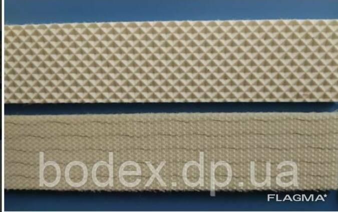 Конвеєрна стрічка з вафельною текстурою для тестораскаточных машин