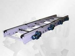 Лінія ланцюгових конвейєрів для палет