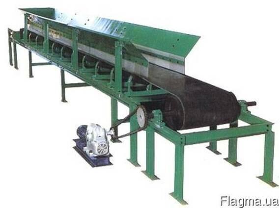 Конвейер ленточный транспортер ленточный