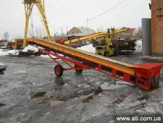 подъемный конвейер транспортер