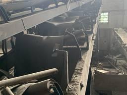 Конвейер , Транспортёр 12м на 3 ролика , лента 960мм, погрузчик ленточный под сыпучий груз