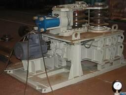 Установка для гибки-ремонта шахтной крепи УПГ-2 СВП-17; СВП-