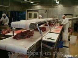 Конвейерная транспортерная лента для мясного цеха