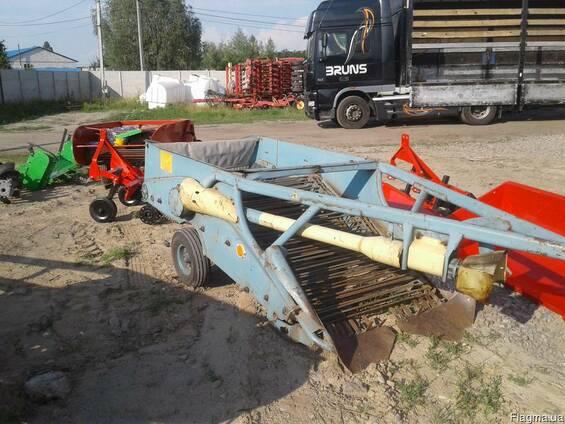 Копалка для картофеля 2-х рядная б/у Агромет (Польша)