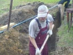 Копання траншей, ям, огорода