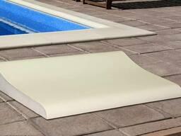 Копинговый камень для отделки бортов бассейна