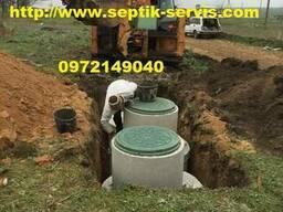 Копка канализации. Выгребная яма под ключ Одесса - фото 4