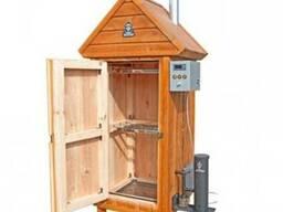 Коптильня холодного копчения (деревянный шкаф, 250 л, 20 кг)