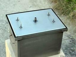 Коптильня с гидрозатвором для горячего копчения мини (2 мм)