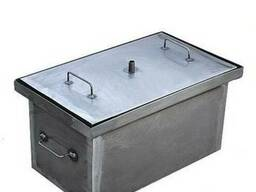 Коптильня с гидрозатвором (горячее копчение, усиленная, 2мм)