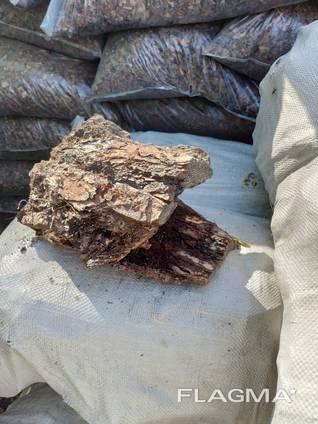 Кора сосновая 50л в белом сахарном мешке