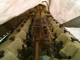 Корабельный двигатель 6Д40, станина СМД 111 новая