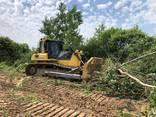 Корчування дерев , пнів бульдозером Komatsu - фото 4