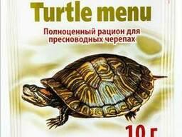 Корм Аквариус Меню для черепах палочки 10 г