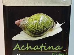"""Achatina Fito тм """"Буся"""" - Корм для улиток растительно-кальциевый со спирулиной 600мл/400г"""