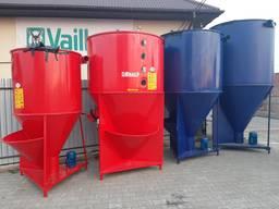 Вертикальный кормосмеситель 750 кг