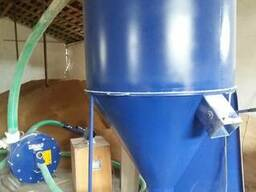 Смеситель сухих кормов дробилка (комплект под ключ) змішувач